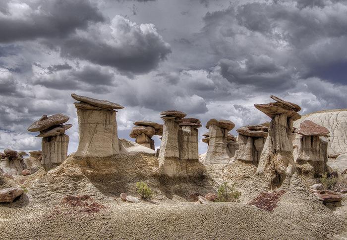 Худу в пустыне.