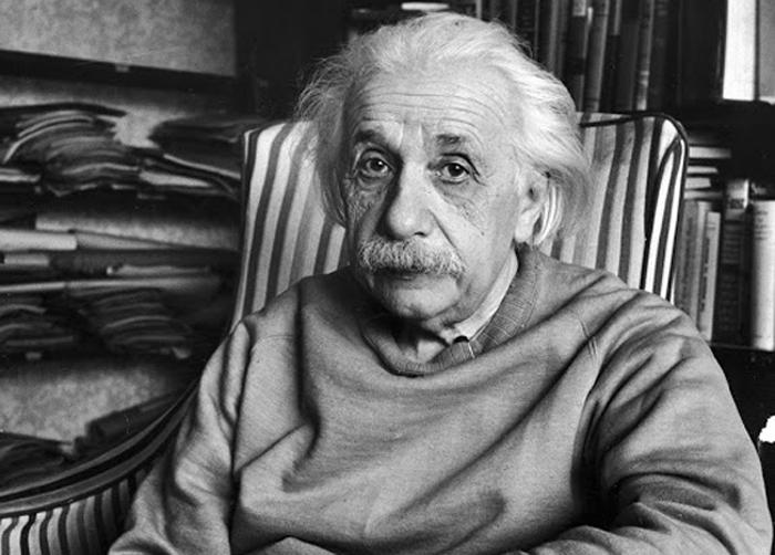 Альберт Эйнштейн (14 марта 1879 — 18 апреля 1955).