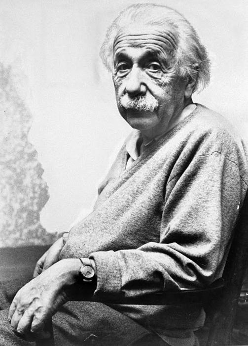 Портрет Альберта Эйнштейна в Принстоне, США. Фото было сделано в день рождения ученого, 14 марта 1953г.