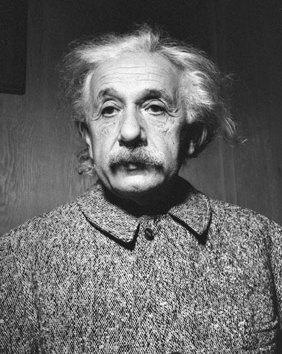 Портрет Альберта Эйнштейна, 1947 г.