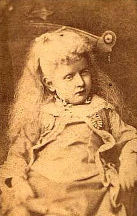 Пятилетняя Ида.