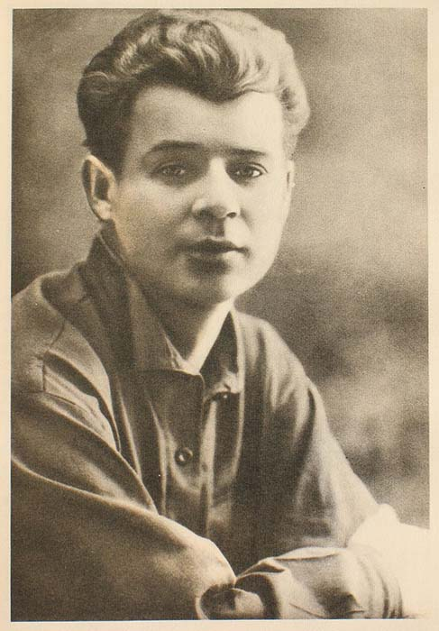 Сергей Есенин в 1924 году.