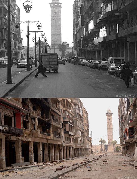 Улица, ведущая к мечети.