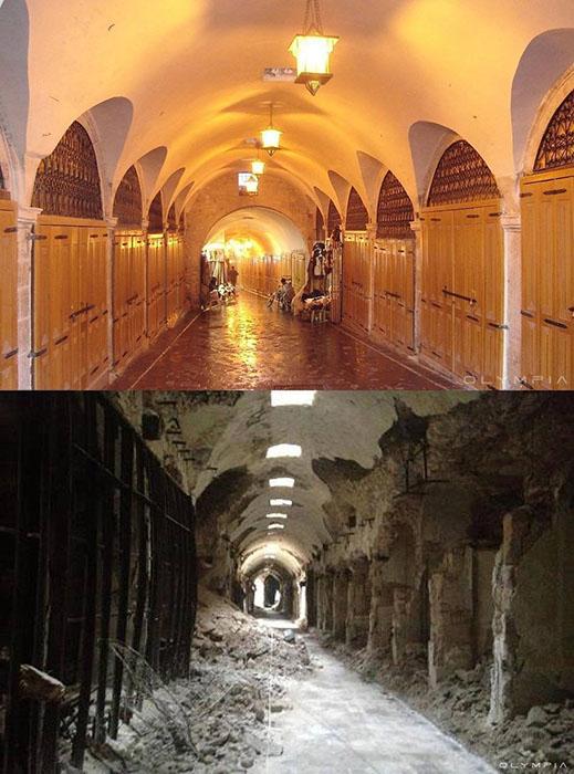 Старый рынок Алеппо.