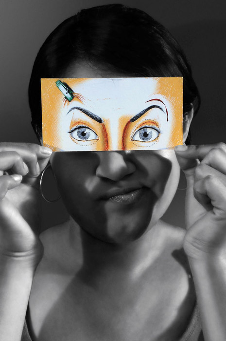 Подтяжка лица. Автор проекта: Jo Cabezas.
