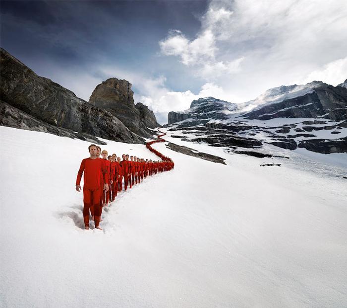 Эпическая фотосессия альпинистов