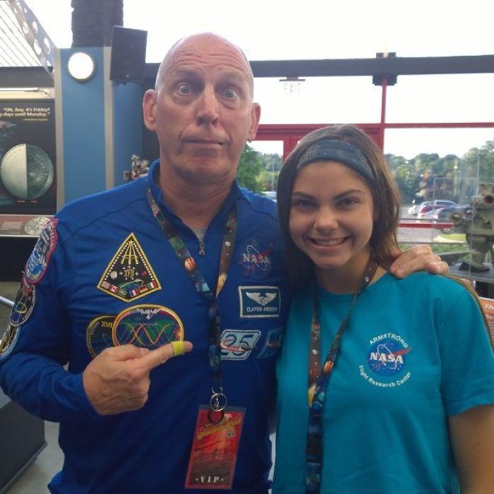 Самая юная участница подготовки миссии на Марс.
