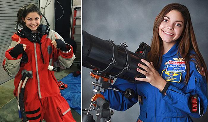 Алисса Карсон, 17-летняя школьница-астронавт.
