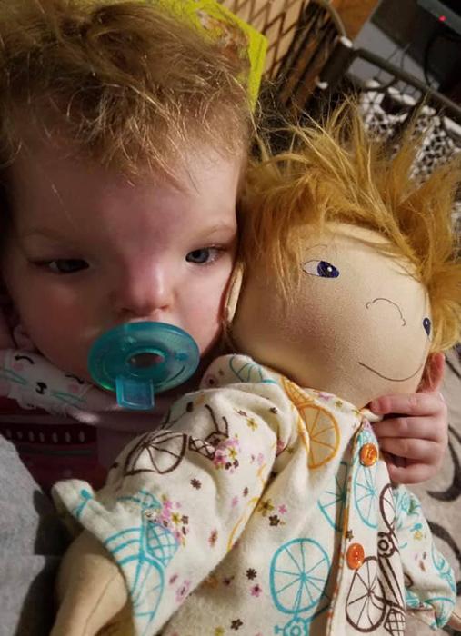 Кукла для малыша.