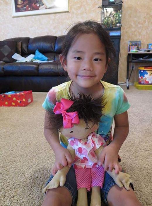 Кукла для Амелии.