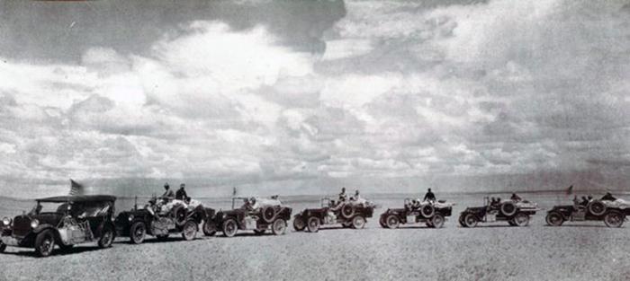 Экспедиция по пустыни Гоби.