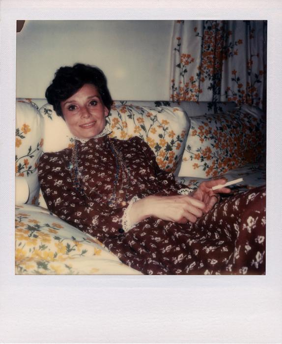 Одри Хепберн (Audrey Hepburn) в объективе Энди Уорхола.