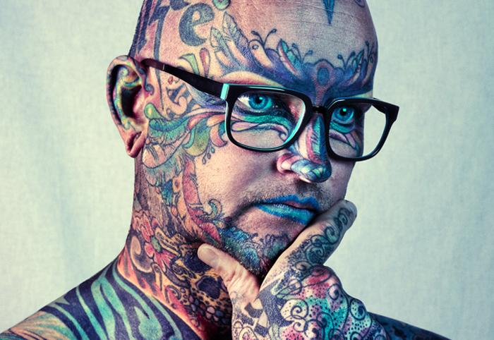 Фотографии с лондонского тату-фестиваля.