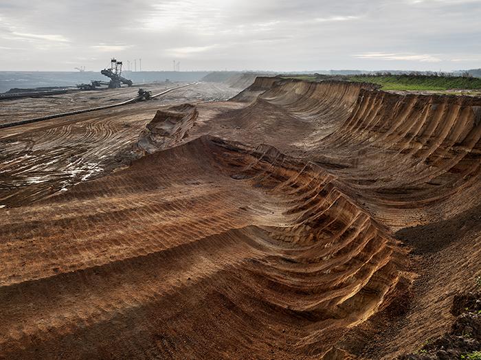 Угольная шахта, Северный Рейн, Германия, 2015 год.