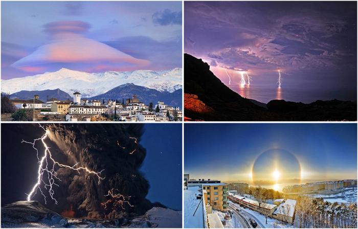 Невероятные природные явления в календаре Astronomy Picture of the Day.