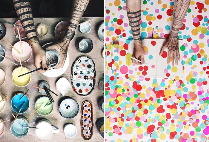 *Что делают мои руки* - проект фотографа из Индонезии.