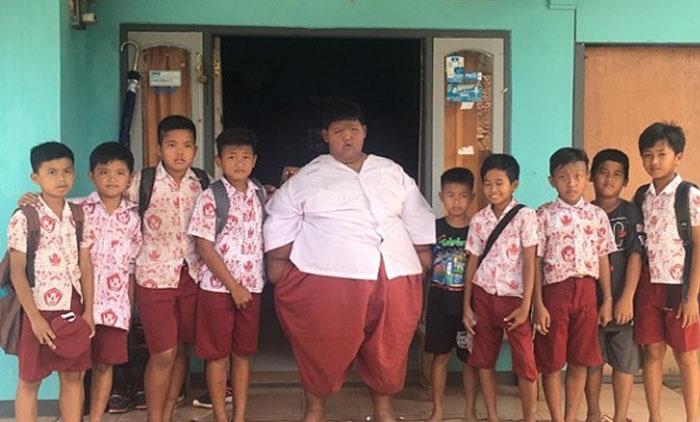 Самый толстый мальчик в мире решился на похудение.