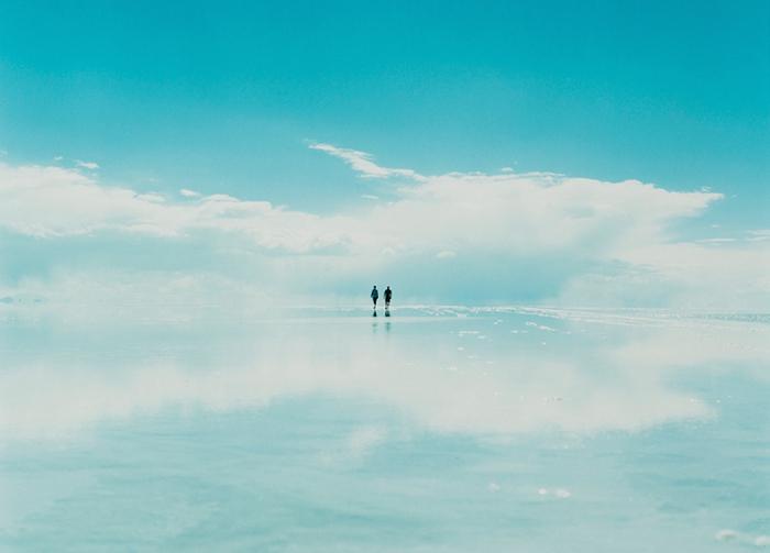 Волшебный пейзаж солончака Уюни на фотографиях Асако Шимицу.