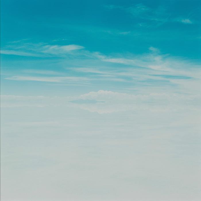 Зеркальная поверхность солончака Уюни делает горизонт почти невидимым.