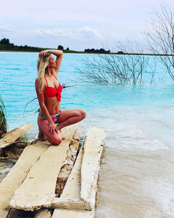 Озеро со шлаками. Instagram maldives_nsk.