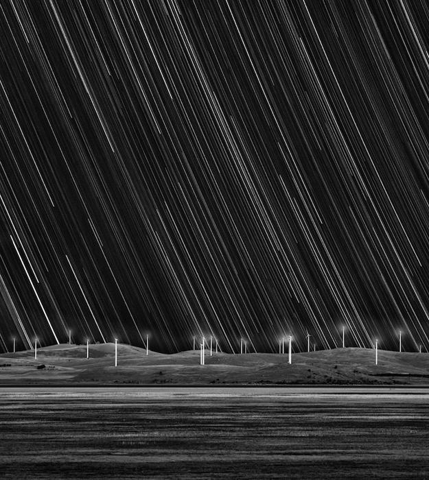 Звездный след и ветряные мельницы - Мэтт Джеймс (Matt James) из Австралии.