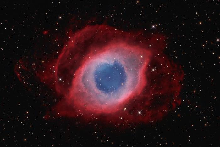 Туманность Улитка (NGC 7293) - Девид Фитц-Генри (David Fitz-Henry) из Австралии.
