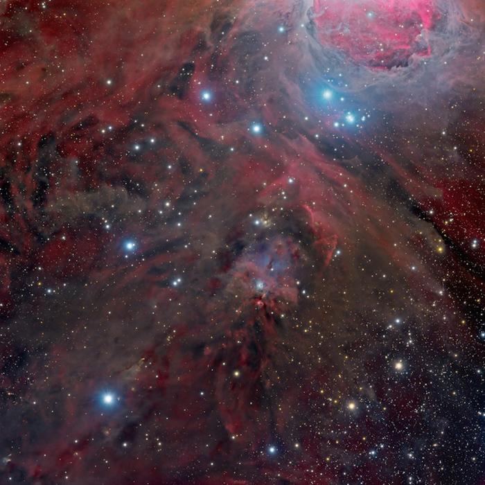 У подножья Ориона (NGC 1999) - Марко Лоренци (Marco Lorenzi) из Китая.
