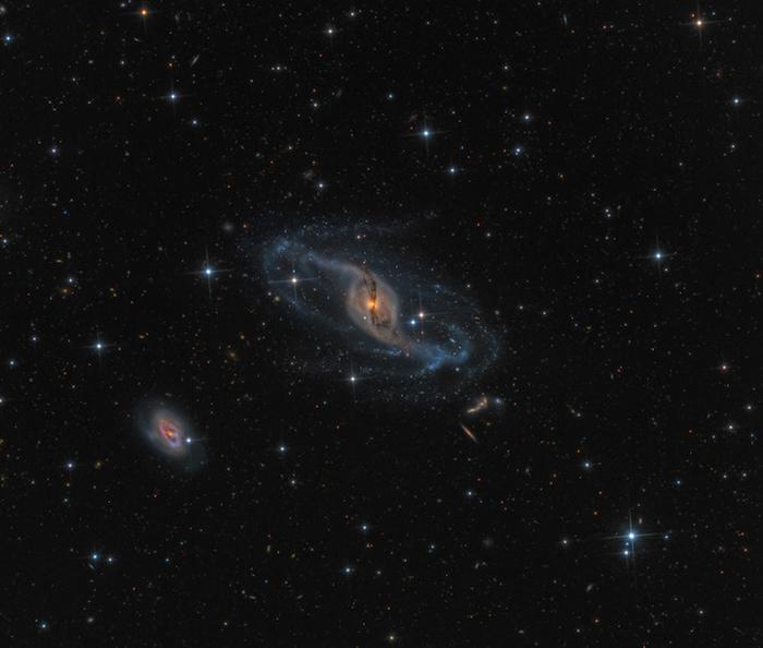 NGC 3718 - Марк Хансон (Mark Hanson) из США.