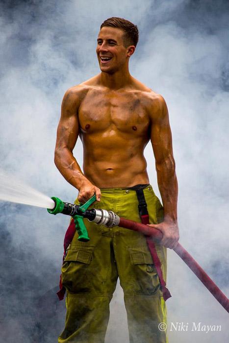 Австралийские пожарные.