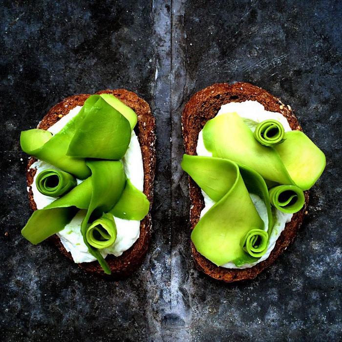 Бутерброды.  Фото: Colette Dike.