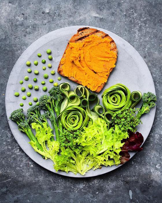 Зеленый салат. Фото: Colette Dike.