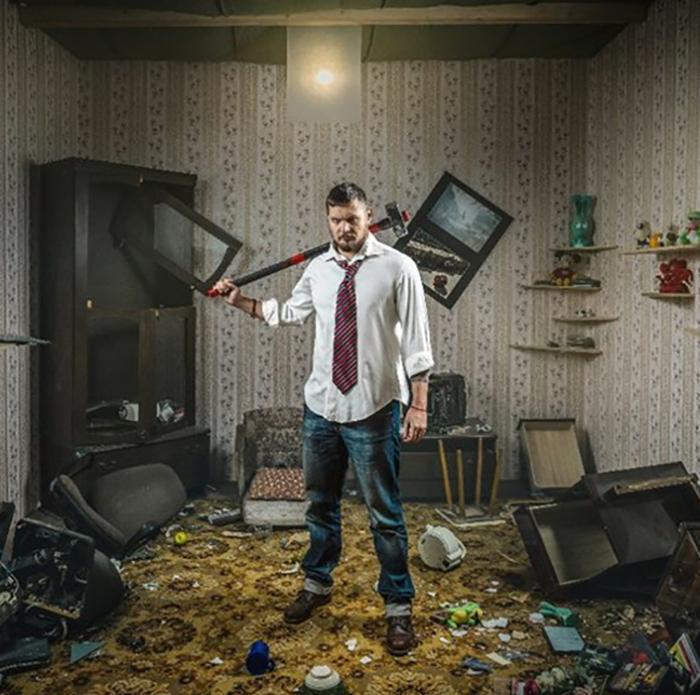 Комнаты гнева для офисных работников.