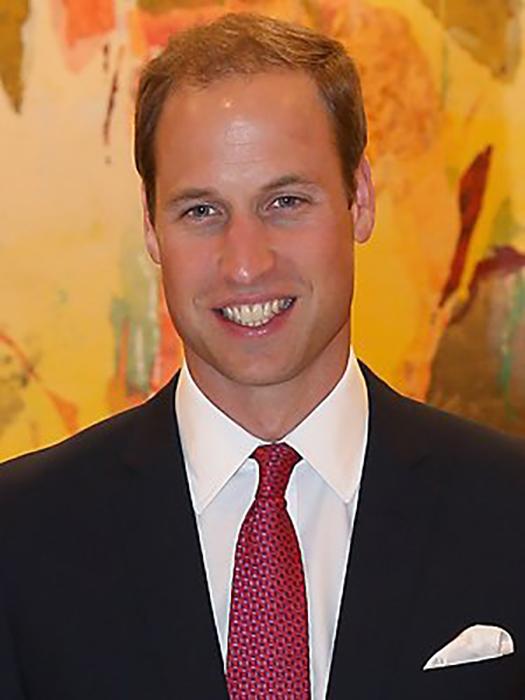 Принцу Уильяму достались *лысеющие* гены его отца.