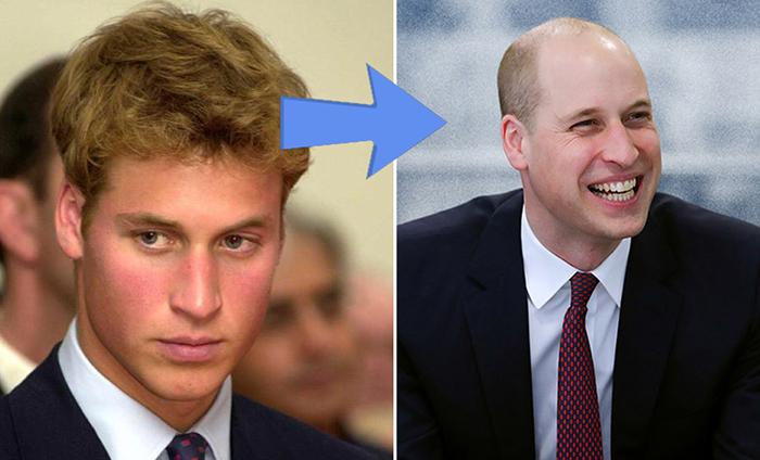 Новая стрижка принца Уильяма.