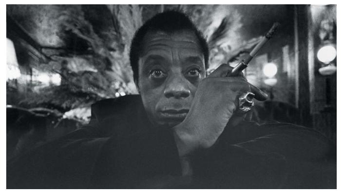 Джеймс Болдуин, Париж, Франция, 1974г.