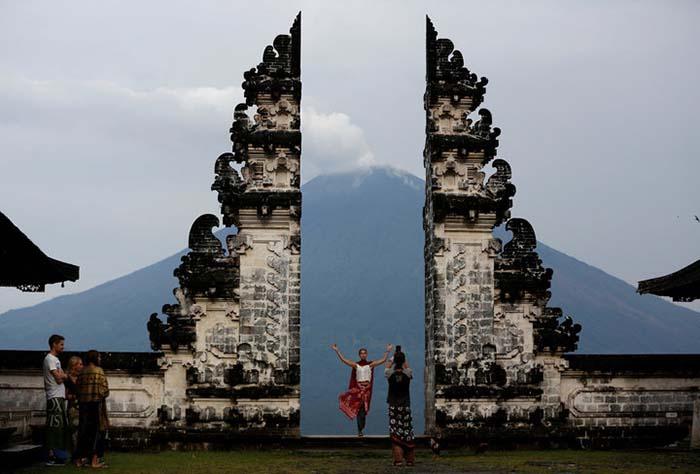 Индонезийские храмы.