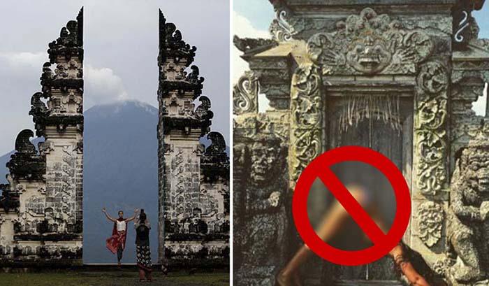 Запреты на Бали для туристов.