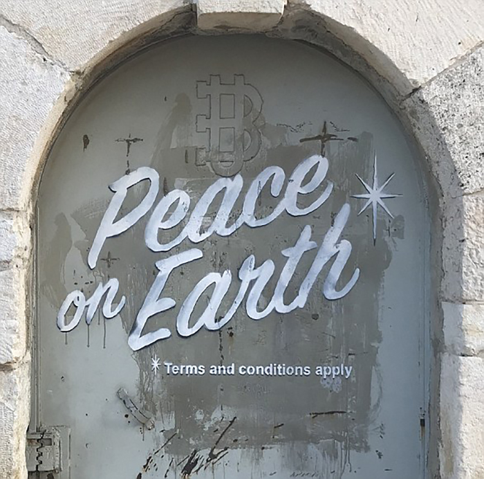 Peace on Earth *Terms and Conditions Apply.