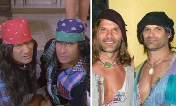 Братья-варвары: Девид и Питер Пол.