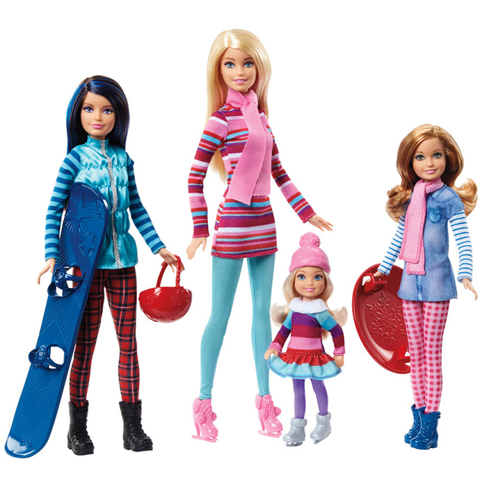Новые виды кукол Барби.
