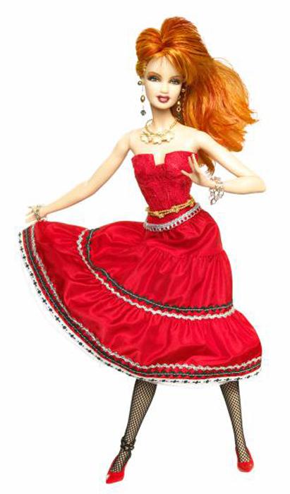 Кукла певицы Синди Лаупер в своем классическом образе была выпущена в 2010 г.