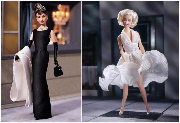 Куклы, изображающие знаменитостей.