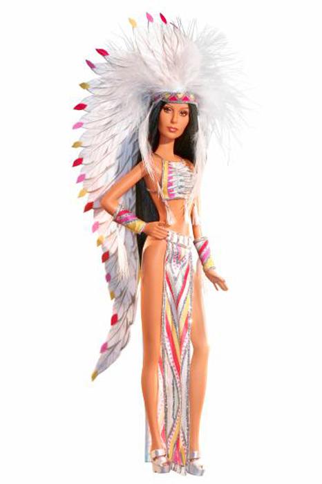 Шер стала моделью для куклы в 2007 году.