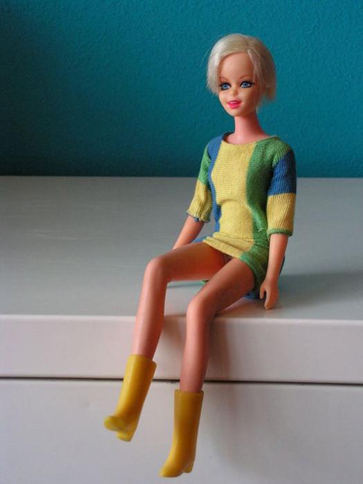 Кукла Твигги, выпущенная компанией Mattel.