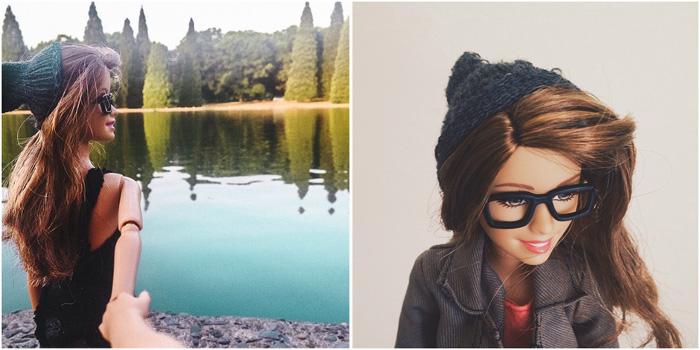 @socalitybarbie, инстаграм хипстерской Барби.