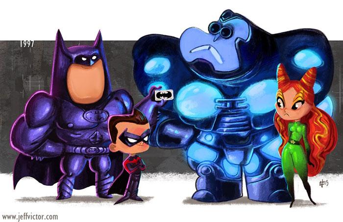Бэтмен и Робин, 1997.