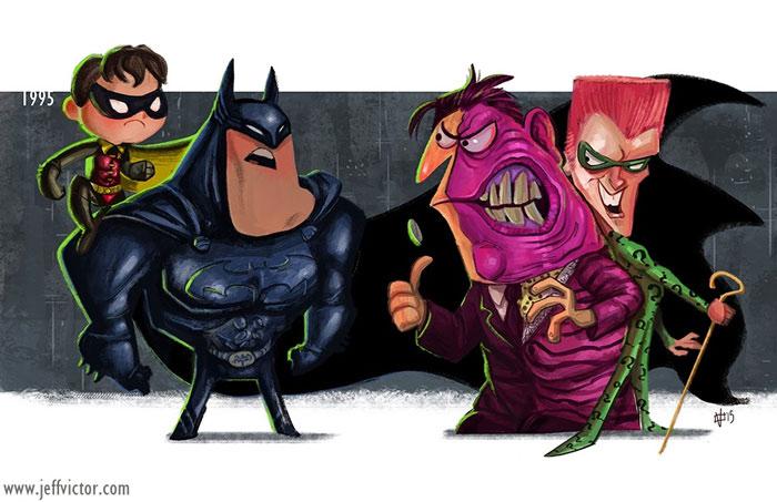Бэтмен Навсегда, 1995.