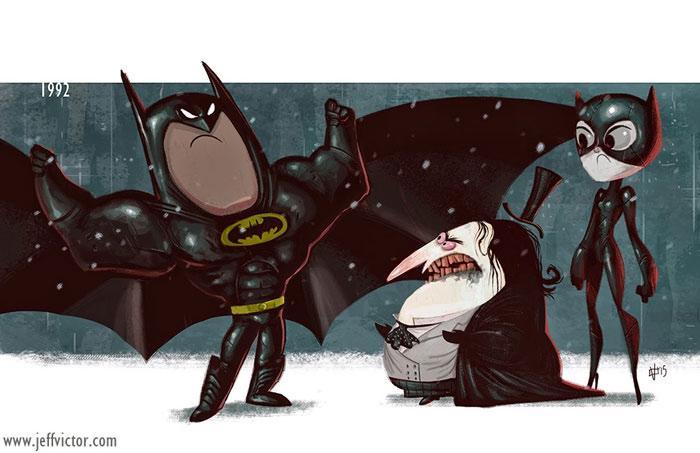 Возвращение Бэтмена, 1992.