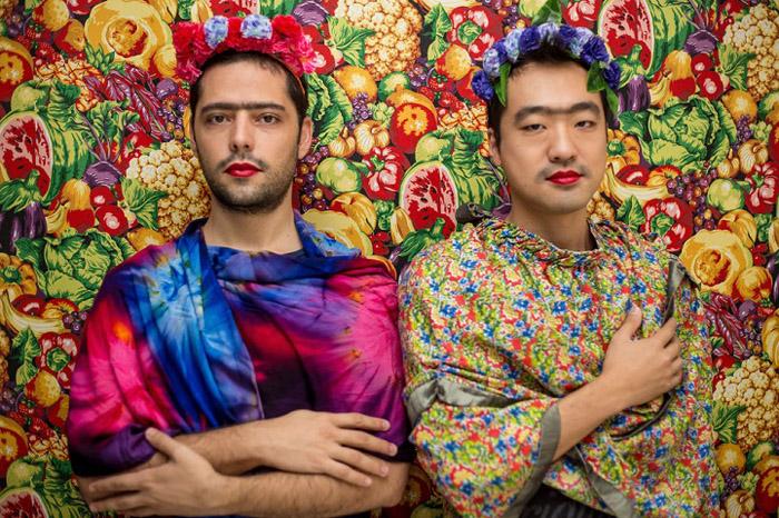 Все участники проекта, вне зависимости от пола и возраста, примеряли на себя яркий образ Фриды Кало.