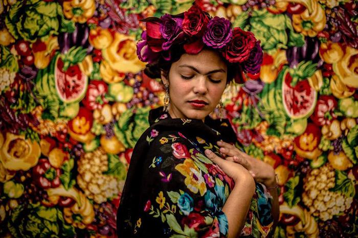 Todos Podem Ser Frida - фотопроект девушки-фотографа из Бразилии.